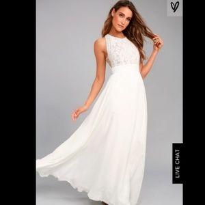Lulu's wedding dress